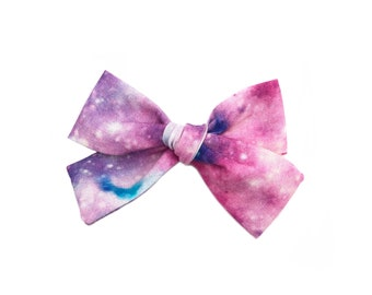 Galaxy - Hand Tied Hair Bow