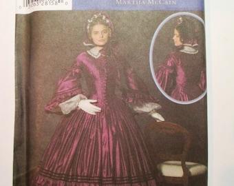 Simplicity 4510 - 1860's Dress pattern * size U5 (16,18,20,22,24)*