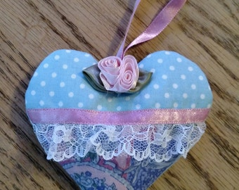 Lavender Scented Lace Heart Sachet