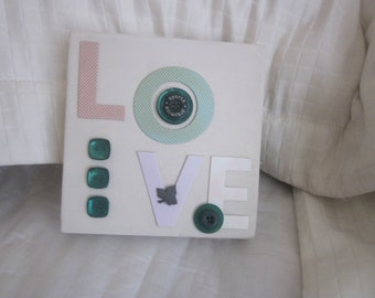 LOVE PICTURE  Canvas Collage