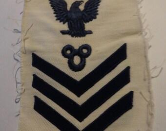 USN US Navy Sailmaker's Mate WW1 vintage Rating badge