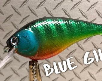 Custom fishing lures realistic series