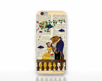 Beauty and the Beast iPhone X case - iPhone 8/8 Plus case -iPhone 7/7 Plus case - iPhone 6/6 Plus case- iPhone 5/5S case-Huawei case-NP3D038