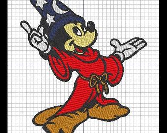 Embroidery design - FANTASIA MICKEY (Disney)