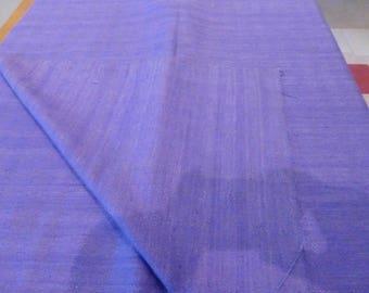 Vintage fabric Mauve colour. Date unknown. suitable for skirts/jackets etc.
