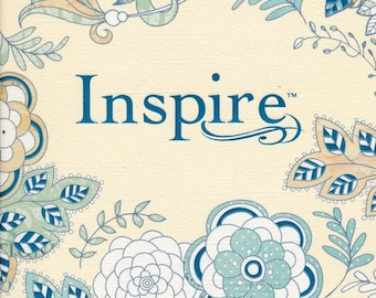 Inspire NLT Bible Hardcover, Ispire Journaling Bible
