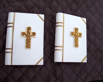 Set 2 Bible Vintage Cake Toppers