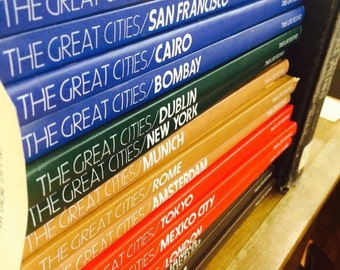 "Vintage 1970s Time Life Books Series ""The Great Cities"""
