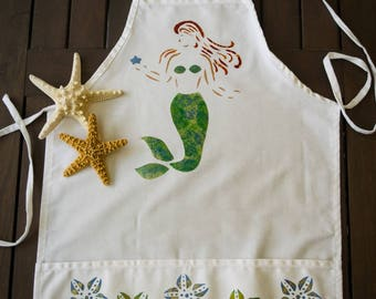 Mermaid Large Child Apron