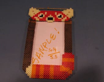 Perler Red Panda Picture Frame