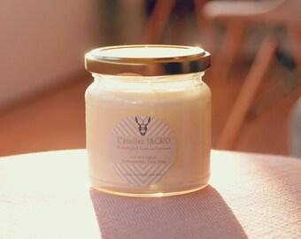 Natural candle - organic Ylang-Ylang essential oil