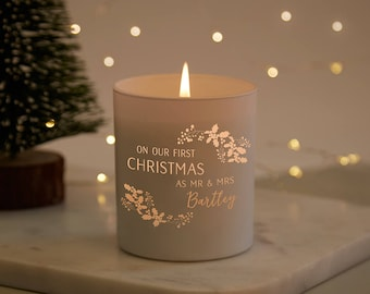 New Wife Husband Christmas Gift Scented Candle