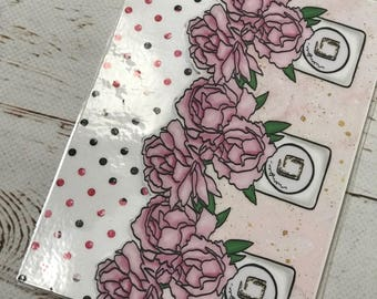 Personal Floral Bookmark
