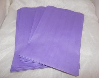 50 6x9 Purple Paper Merchandise Bags, Party Favor Bags, Retail Bags, Gift Bags, Purple Wedding Bags, Purple Bridal Bags,