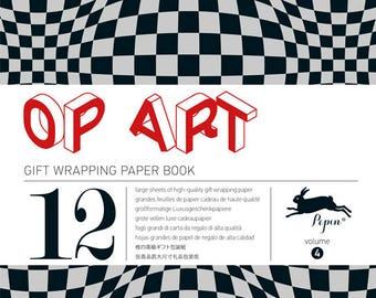 Pepin Press Volume 4: Op Art Wrapping Paper Book