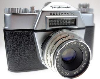 Camera Voigtländer Bessamatik with Color Skopar X 50 mm f 2,8