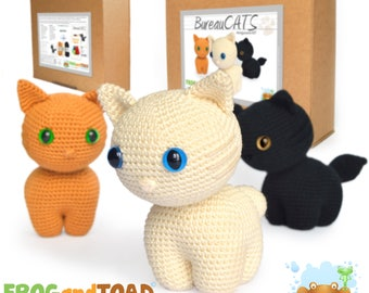 BureauCATS - Chat / Cat - Amigurumi Kit