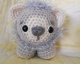 Little Amigurumi Lion : Knit lion etsy