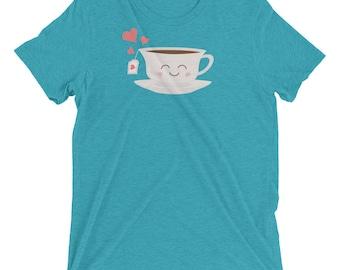 Happy Tea - Short sleeve t-shirt