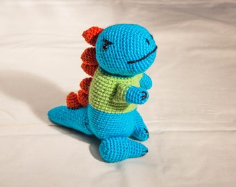 MADE TO ORDER Tyson T-Rex crochet toy