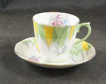 Royal Albert Fine Bone China Cup and Saucer WOODLAND GLEN