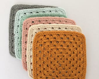 Cotton crocheted #scandinaviandesign cups below