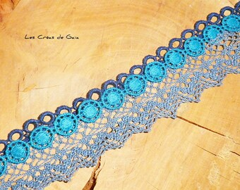 Bracelet Turquin • lace colorful • Chic, Bohemian jewelry • budget