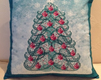 Winter Tree Pillow Cover