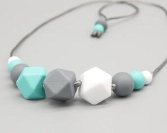 """Necklace/Still Chain """"NlCO"""" Silicone Jewelry"""