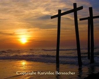 Awakening the Dawn, Christian Art, Fine Art Matted Photography