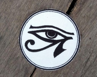 Ancient Egyptian Eye of Ra/Horus - Iron on Patch