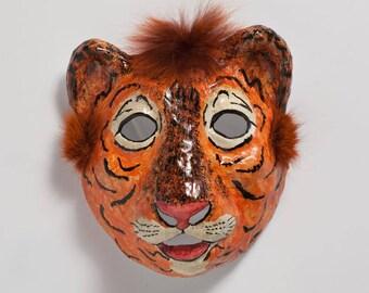 masquerade tiger paper mask