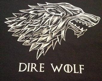 Grateful Dead Dire Wolf Short Sleeve Lot Shirt
