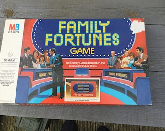 Family fortunes game dated 1981