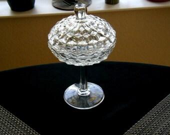 Vintage Antique Glass Candy plat