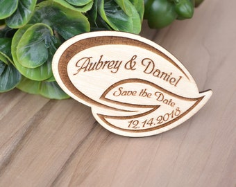 Custom SAVE the DATE MAGNETS // Wedding Save the Date Magnets - Save the Date Magnets Rustic - Wood Save the Date Magnets - Wedding Magnets