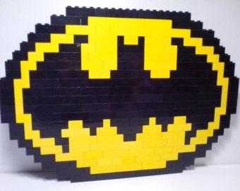 Lego Mosaic Batman Logo