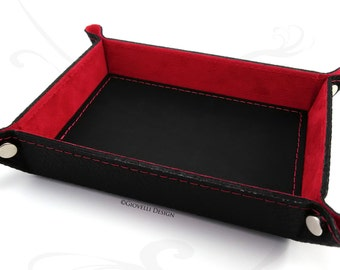 Leather Valet Tray, Catchall tray, key tary, Leather Organizer, Personalized Gift, Employee gift, Business gift, Corporate, Home Décor