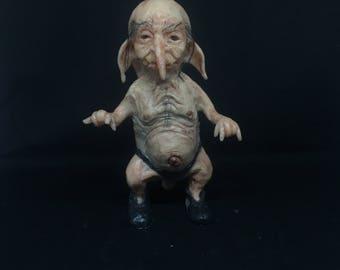 ooak silicone troll portafortuna
