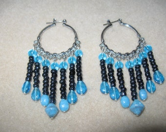 Beaded Drop Earrings E003