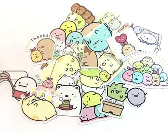 Sumikko Gurashi Stickers, Version 1
