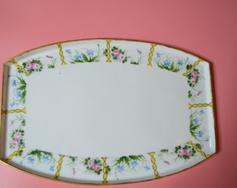 Vintage Nippon Small Tray or Dresser Tray