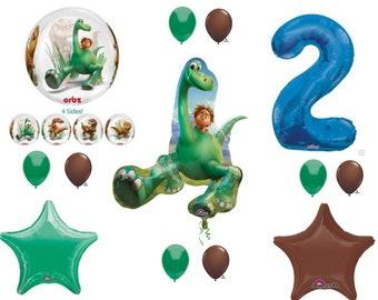 The Good Dinosaur 2nd Happy Birthday Party Balloons Decoration Arlo Spot