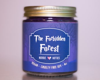 The Forbidden Forest-- Soy Candle (4 oz)