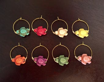 Wire Wineglass Charms