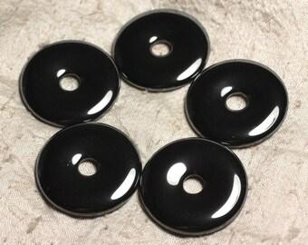 Gemstone - Hematite Donut Pi 40 mm 4558550029843 pendant