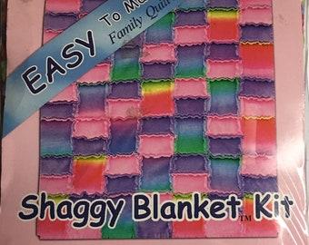 Shaggy Blanket Kit by David Textiles