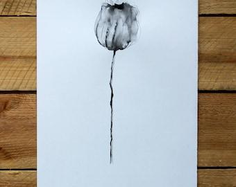 "Original drawing ""Homage to Blossfeldt""/ink"