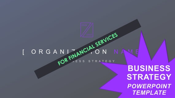 Business Strategy Template - Financial Services
