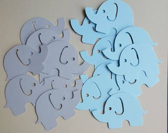 Elephant Confetti, Its A Boy, Baby Boy Shower Decorations, Gender Reveal Party, Birthday Party Decorations